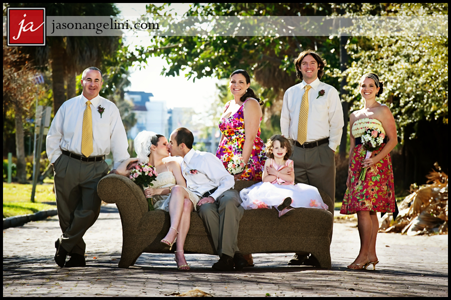 Unique Group Poses For Wedding Party Photos