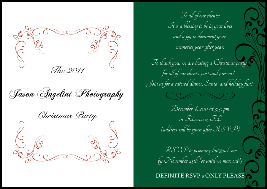 Our Annual Christmas Party in Appreciation of Our Clients! » Jason ...