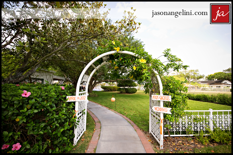 Wedding At The Davis Islands Garden Club Jackie And Nick Jason Angelini Photography